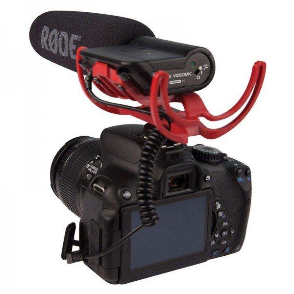 Rode microfoon fotocamera - NEBO