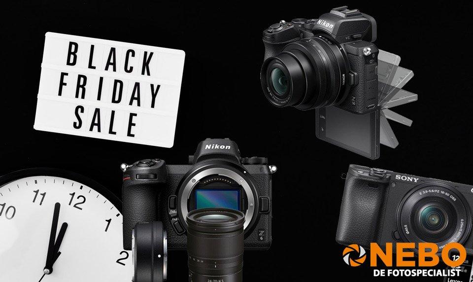 Blog NEBO Black Friday camera aanbiedingen
