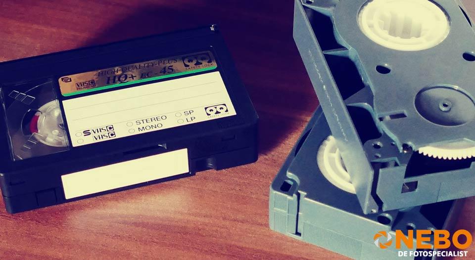 film van videoband overzetten naar usb