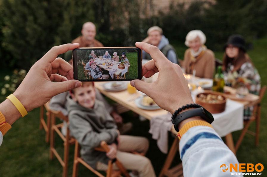 fotograferen smartphone