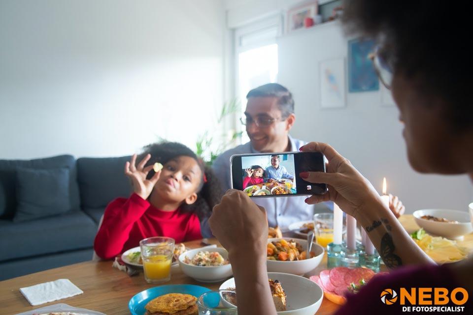 Foto's van je smartphone afdrukken NEBO