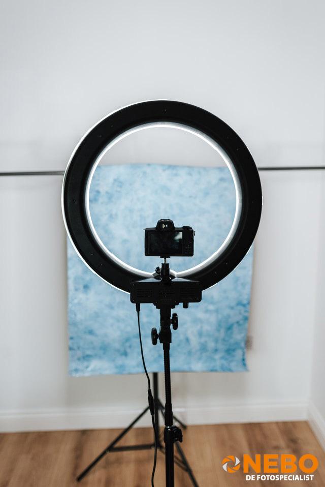 Ringlamp fotostudio