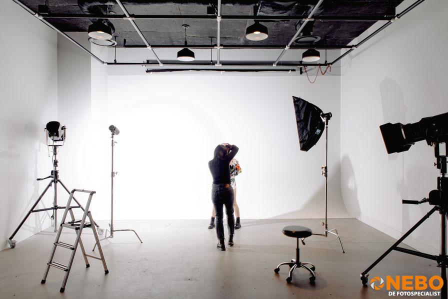 NEBO fotostudio inrichten
