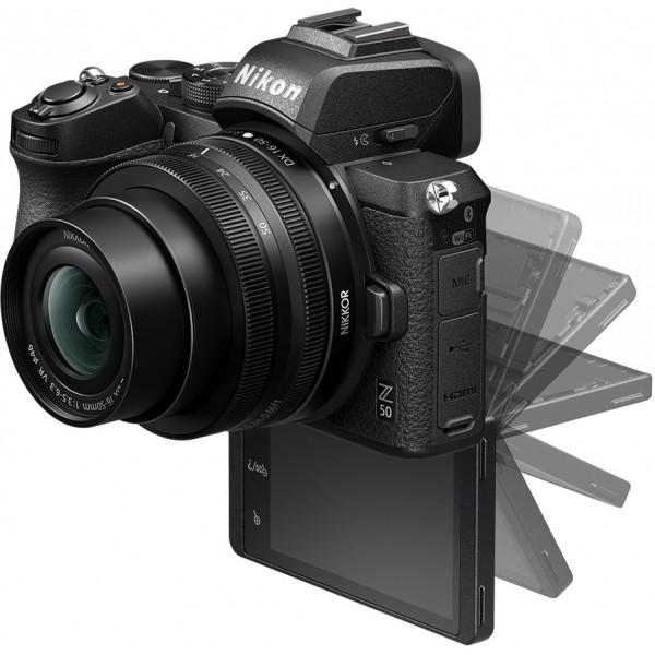 Nikon z50 vlogcamera