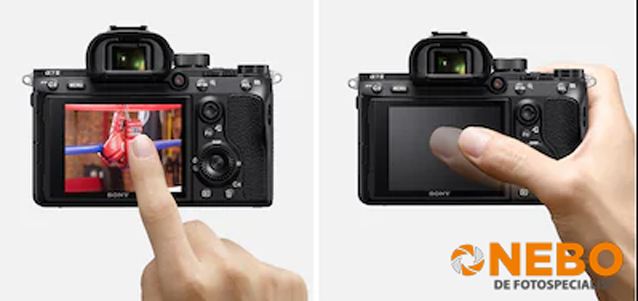 sony a7 touchscreen
