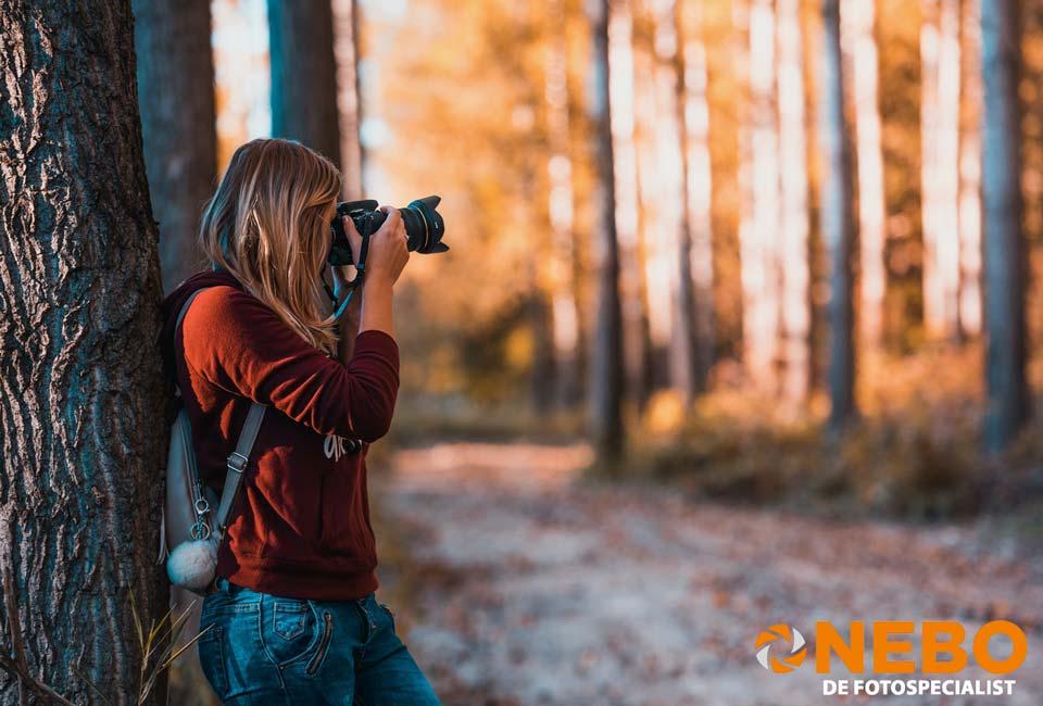 Tips voor fotograferen in de herfst NEBO