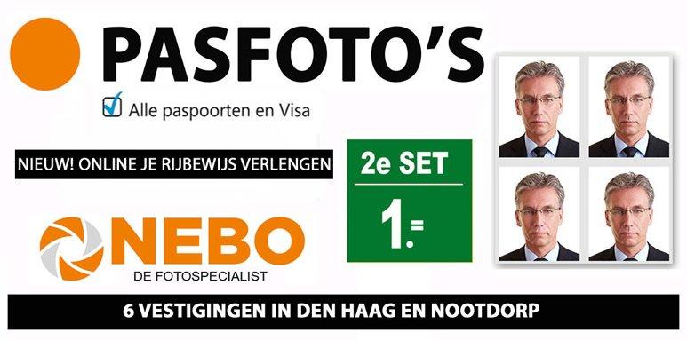 pasfoto maken voor digitaal rijbewijs verlengen