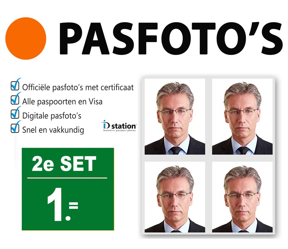 Pasfoto maken Den Haag NEBO