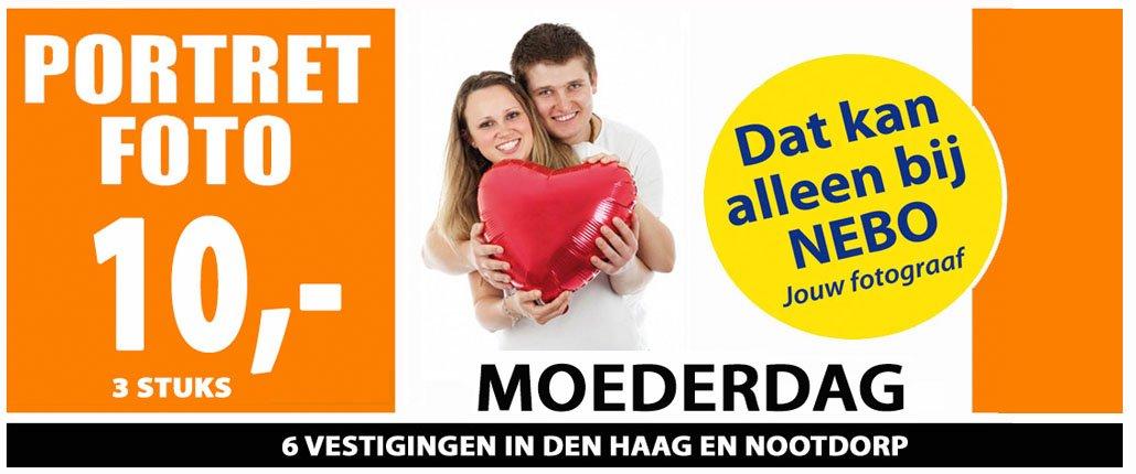 portretfoto maken Moederdag Den Haag