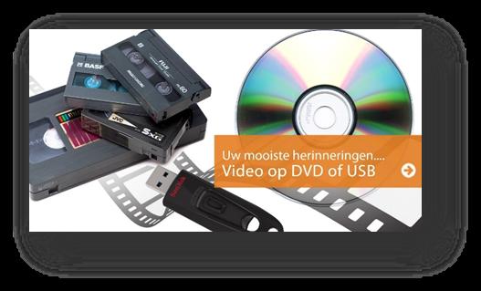 Oude film overzetten naar DVD