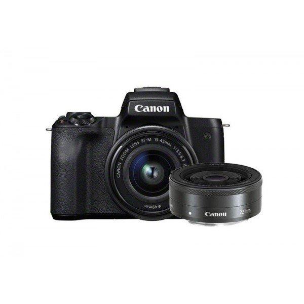Canon EOS M50+15/45S+M22