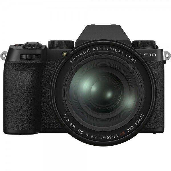 Fujifilm X-S10 + XF 16-80 zwart