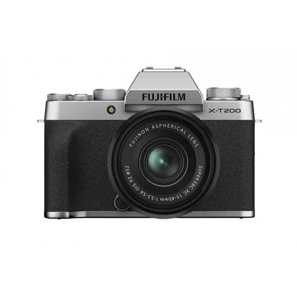 Fujifilm X-T200+XC 15/45 zilver