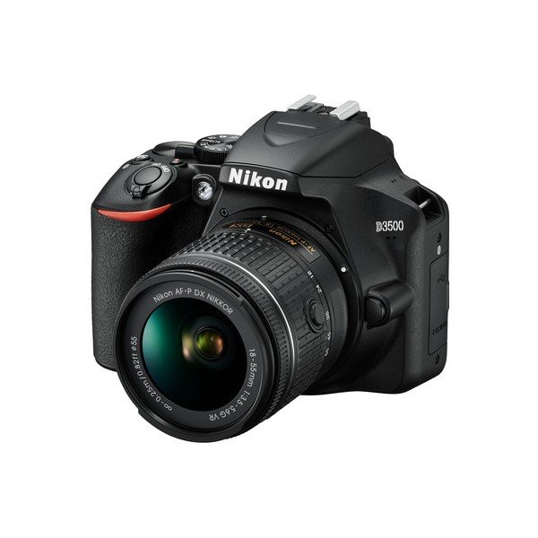 Nikon D3500 met zoomlens