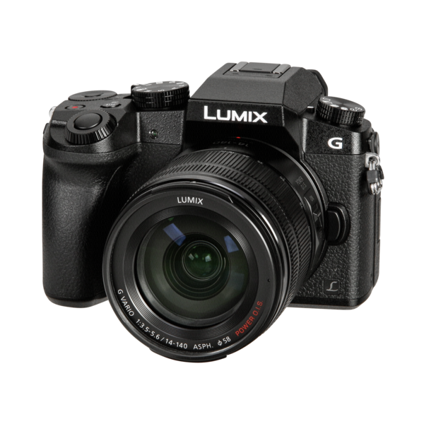 Panasonic Lumix G7 met zoomlens